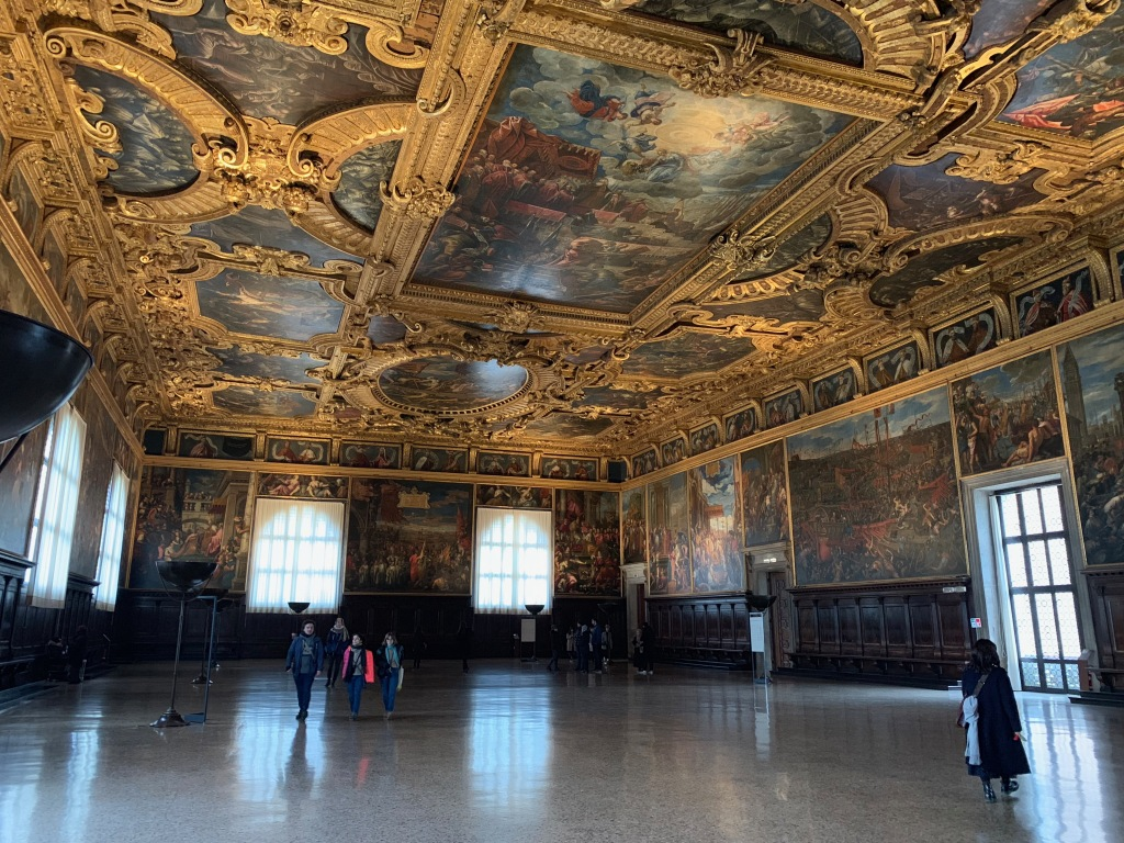Chamber of the Grand Council, Doge's Palace, Venice