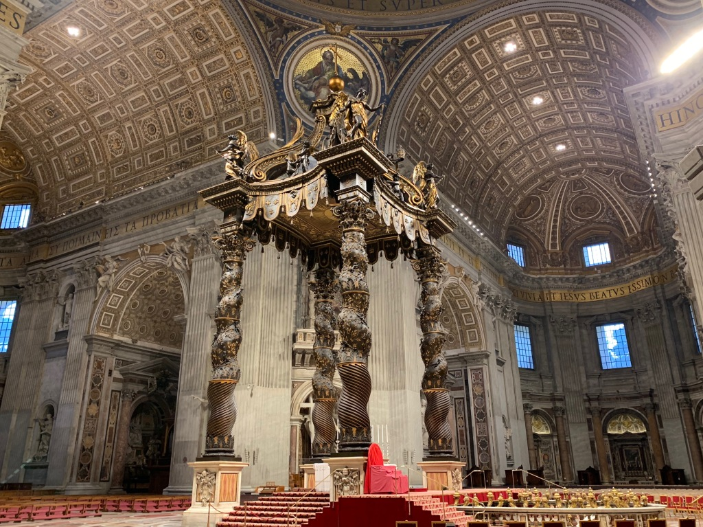 Canopy over the high altar (St. Peter's Basilica)