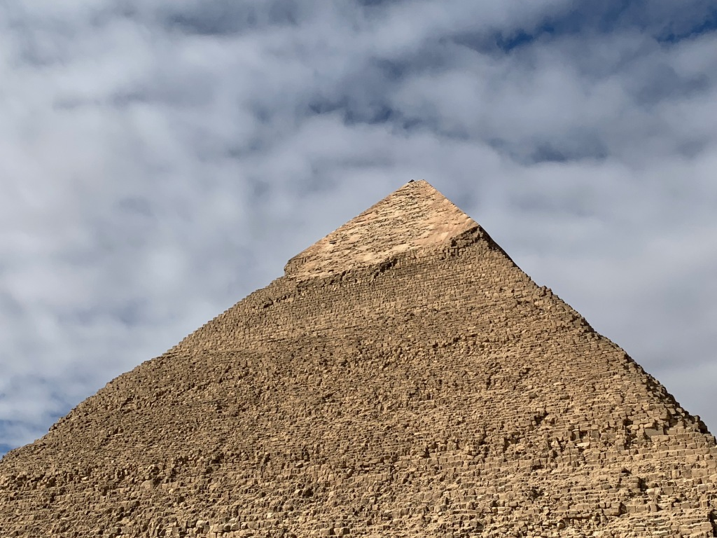 Top of the Pyramid of Khafre