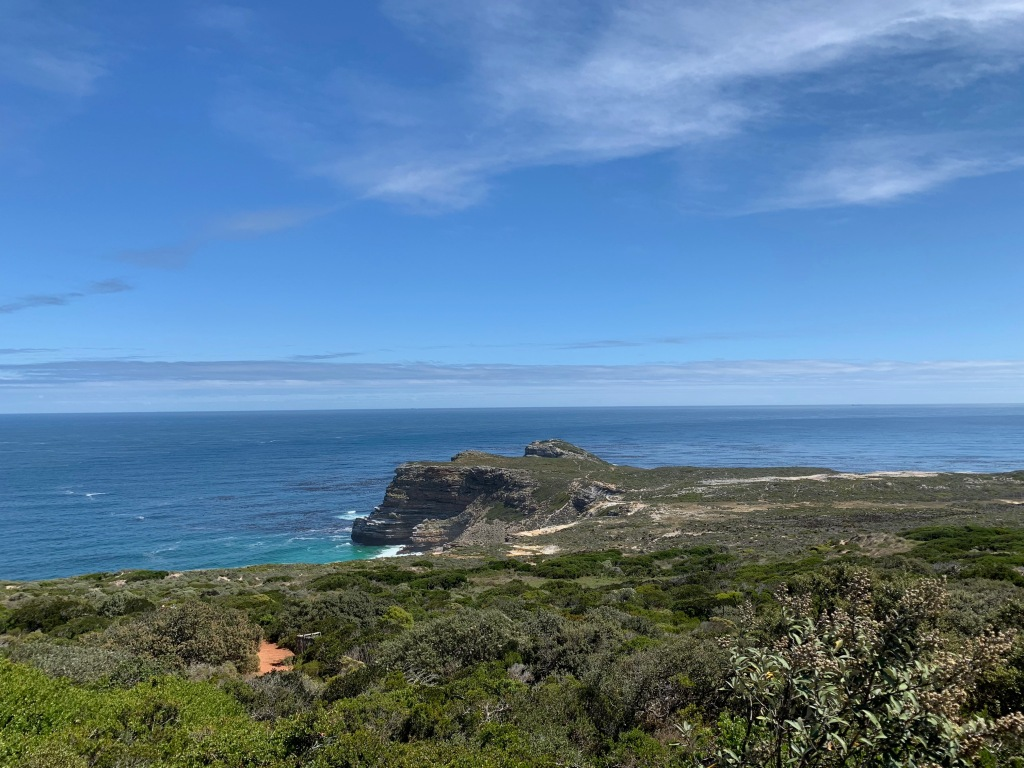 View of the Cape of Good Hope from Cape Point
