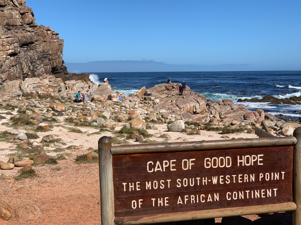 Sign at the Cape of Good Hope