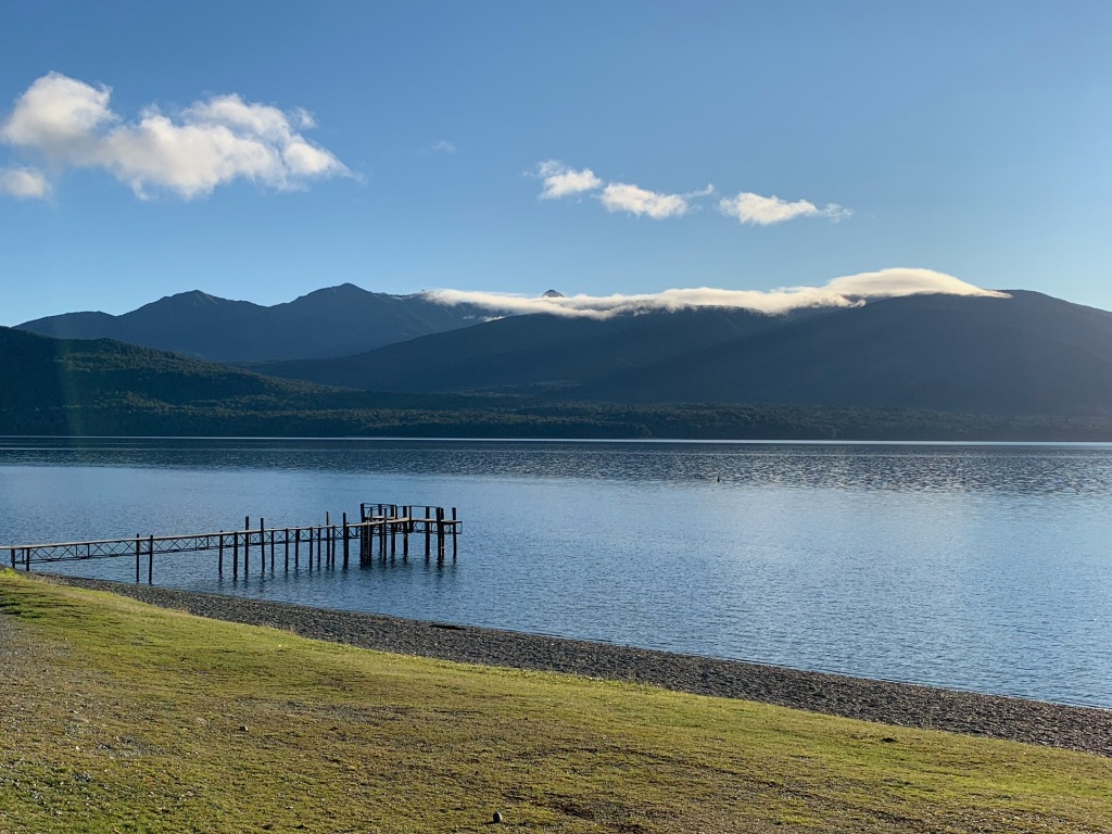 Dock on Lake Te Anau