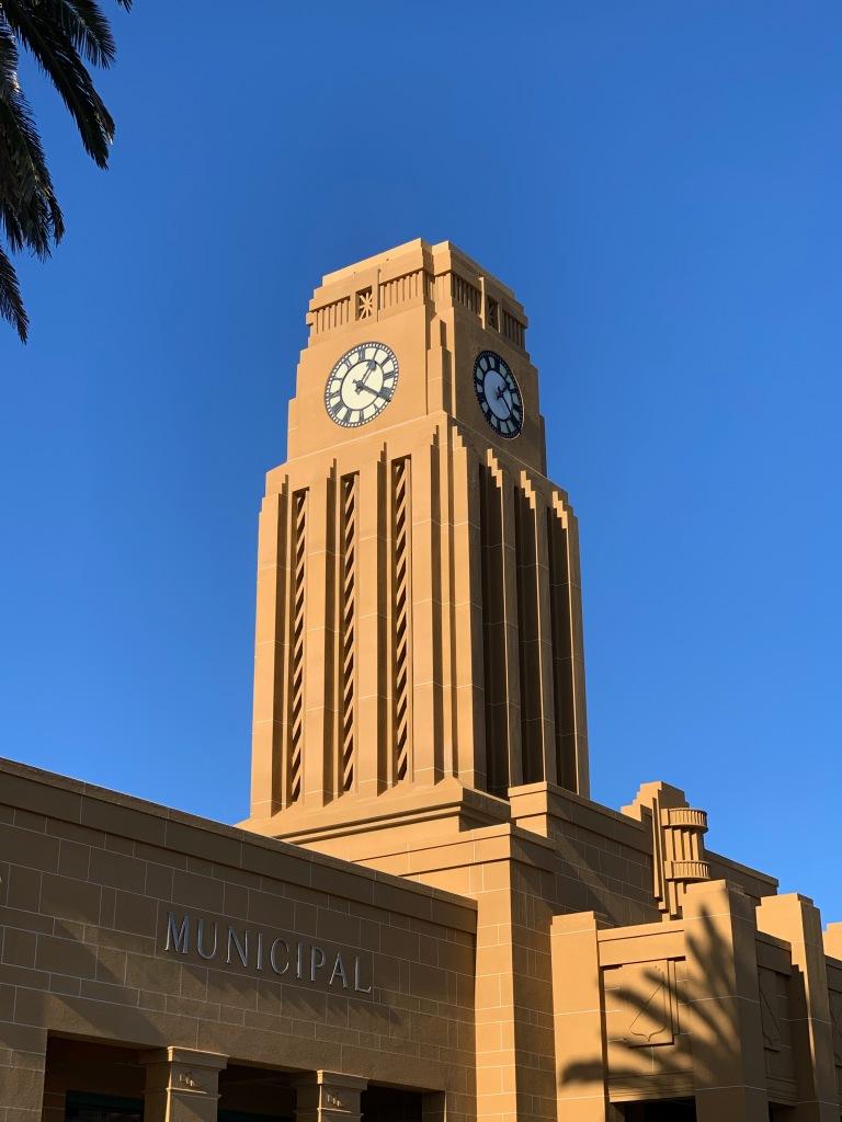 Westport, NZ, municipal building